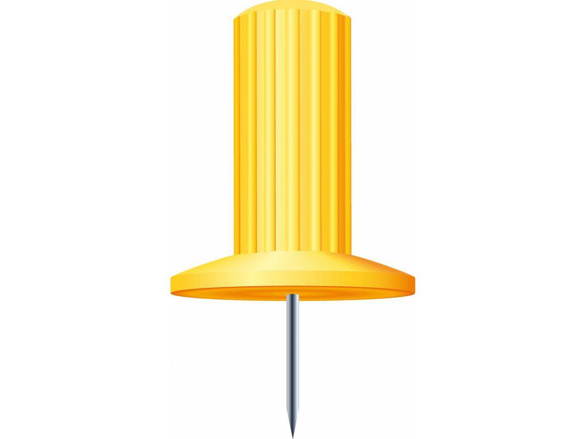 Exacompta Pinwand Nadeln 7mm 14903e Gelb 25 Stück Papedis Ag