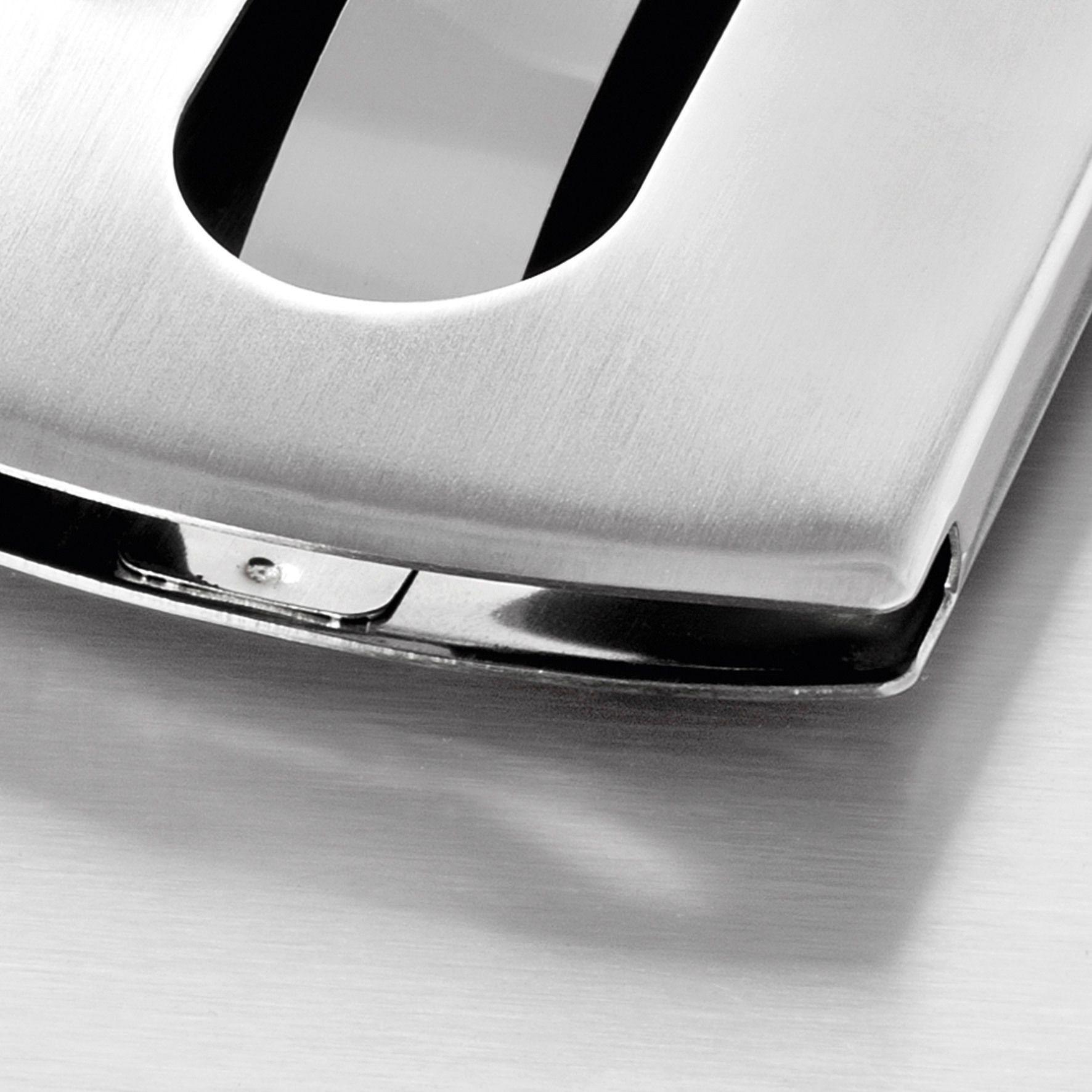 Sigel Visitenkarten Etui Snap Vz120 Edelstahl 12 St Silber