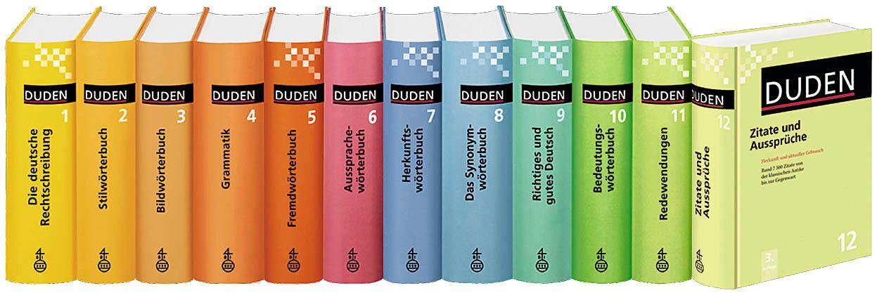 Duden Duden Band 12 783411041244 Zitate Und Aussprüche