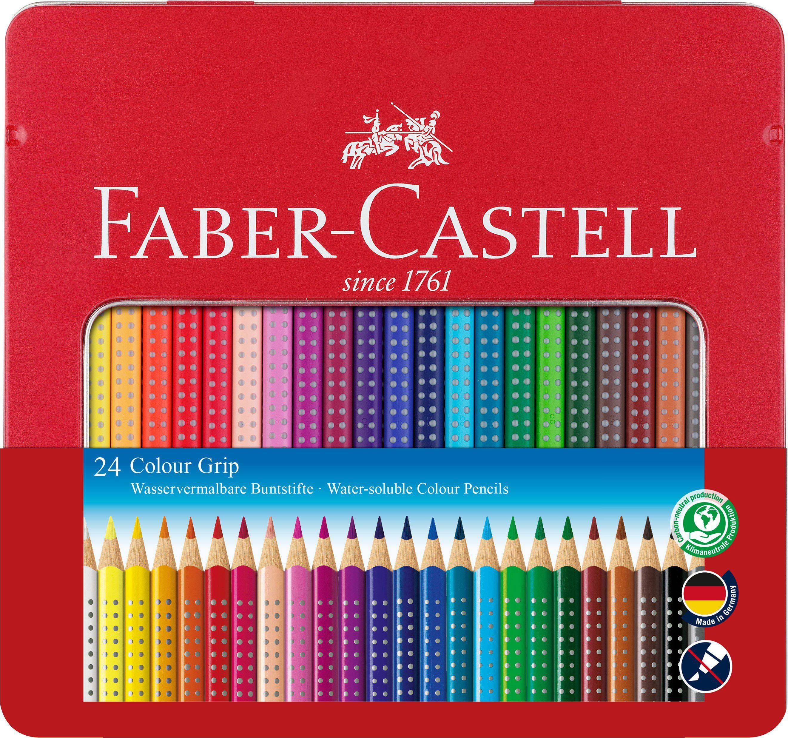 fabercastell farbstifte colour grip 112423 24 farben