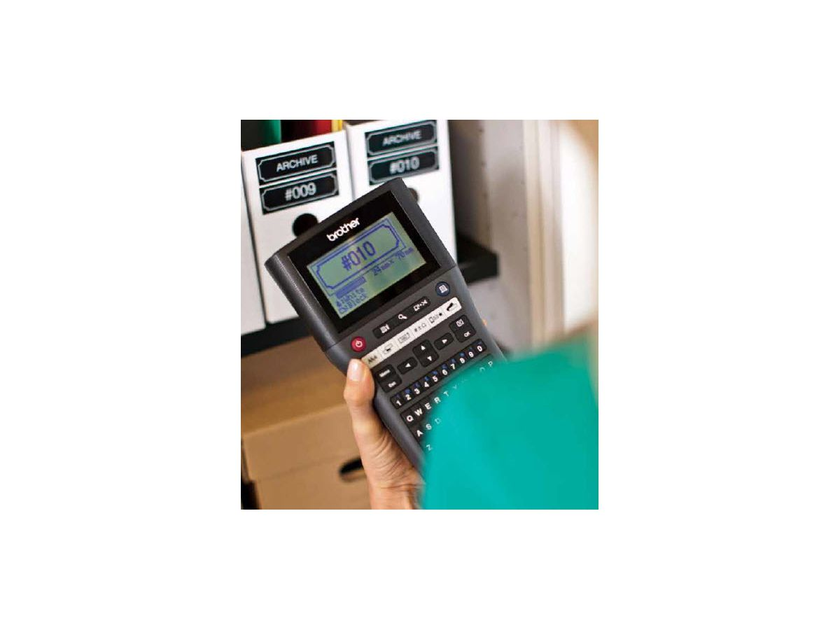 PTOUCH Gerät PT-H500 inkl. 1 Farbband (4977766732109)